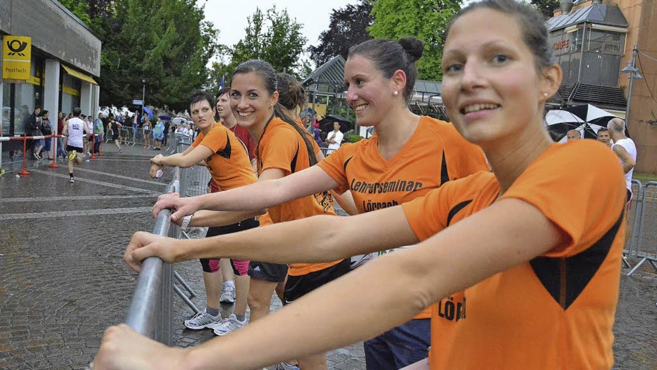 Laufen im Team macht Spaß: Beim Stadtlauf sind die Teammeldungen angestiegen.   | Foto: Archivbild: Barbara Ruda