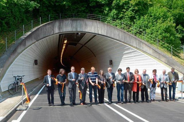 Hugenwaldtunnel ist für den Verkehr wieder frei