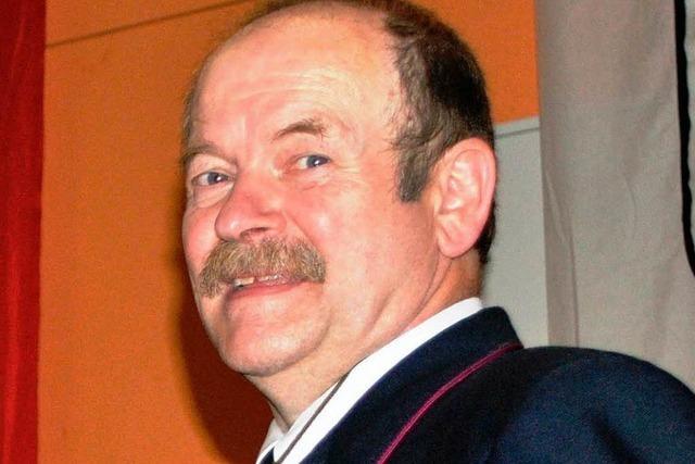 Kommandant Berthold Maier sagt adieu