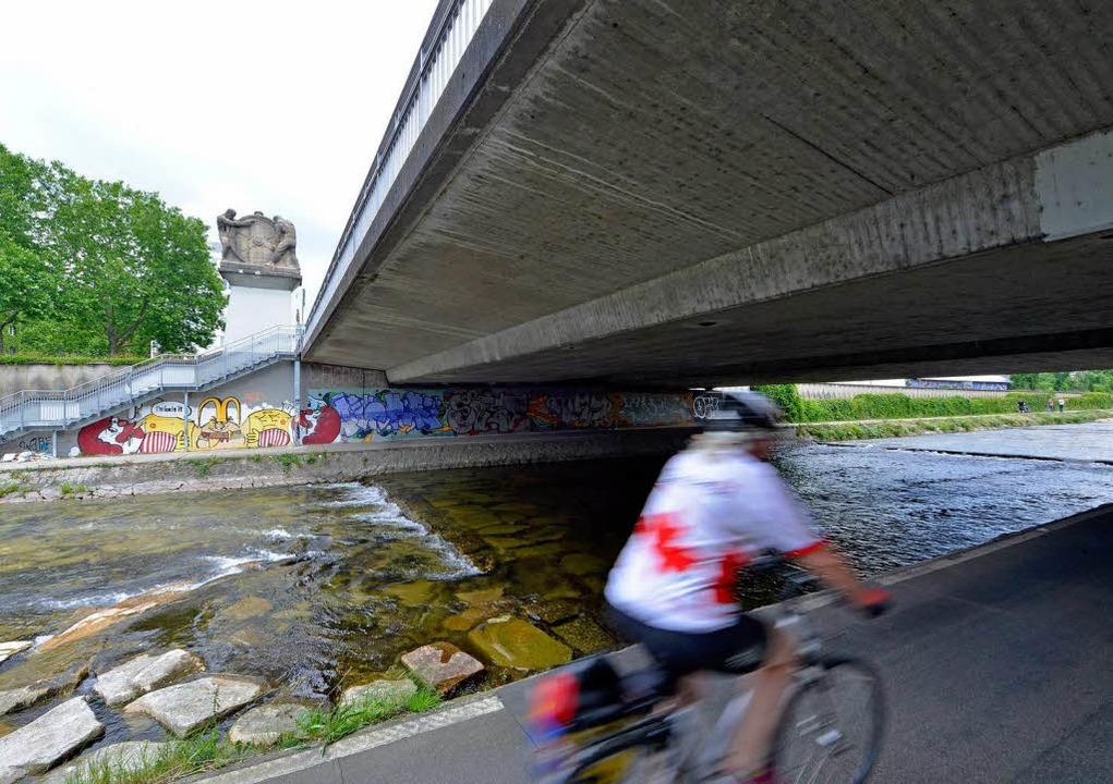 """Gerade noch mit """"ausreichend"""" bewertet: die Ochsenbrücke     Foto: Michael Bamberger"""