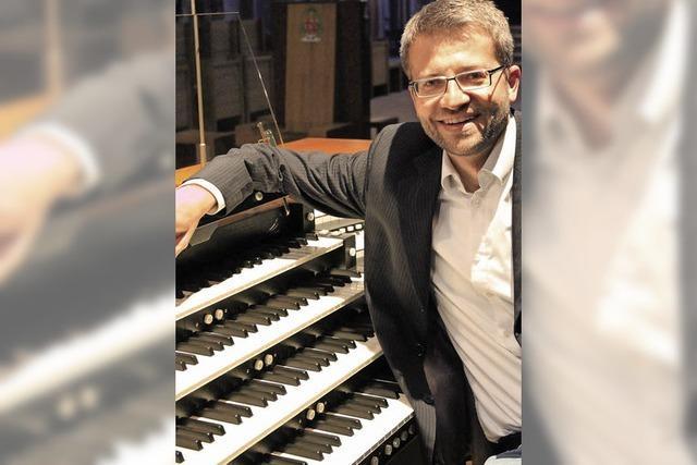 Orgelmusik zur Marktzeit mit Jörg Josef Schwab