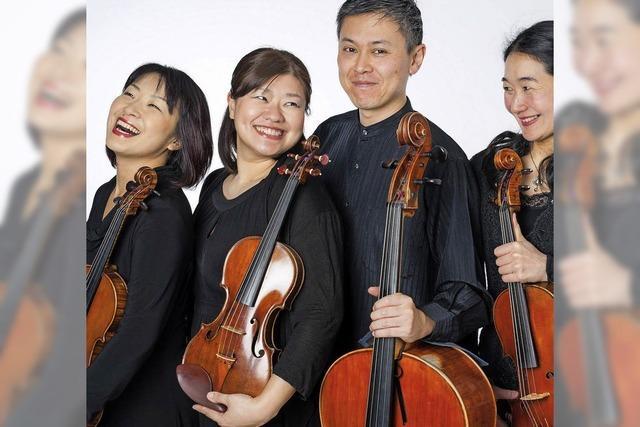 Ibuki-Quartett spielt in Münstertal