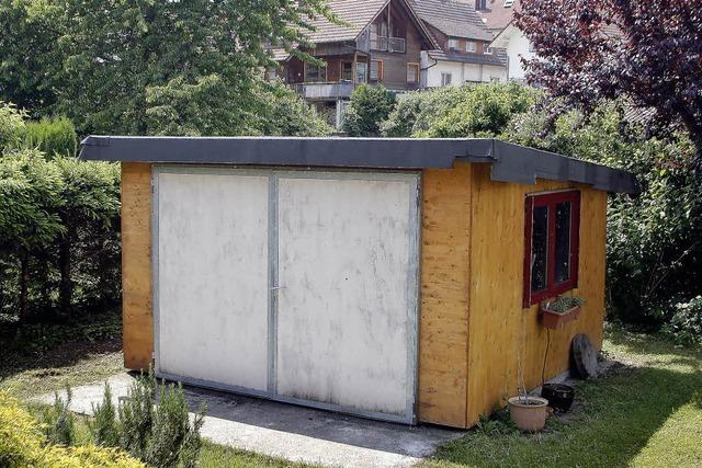 Gemeinderat: Gerätehütte muss weg