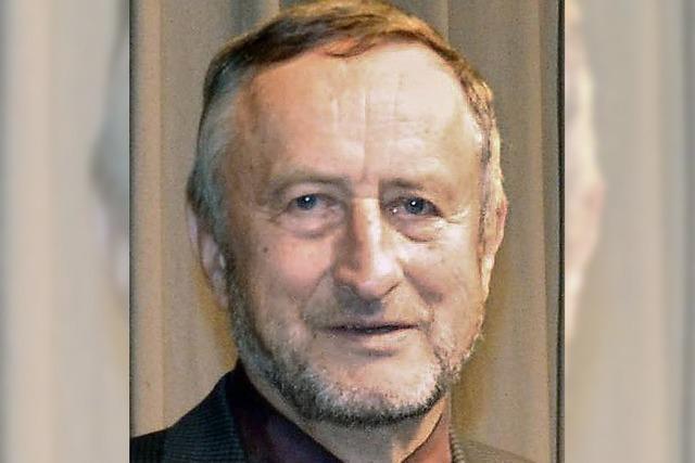 Bernhard Schwander seit 60 Jahren im Chor