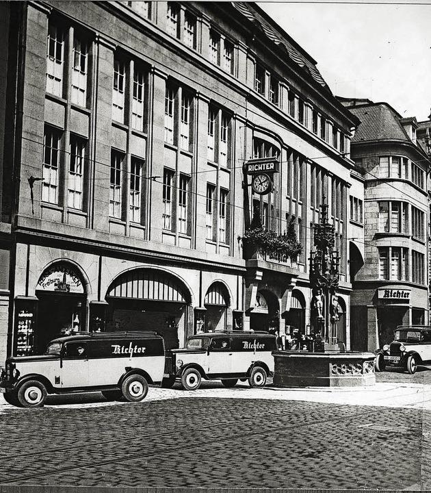 Arisiert: Kaufhaus Richter, 1937  | Foto: Kreisarchiv Breisgau-Hochschwarzwald