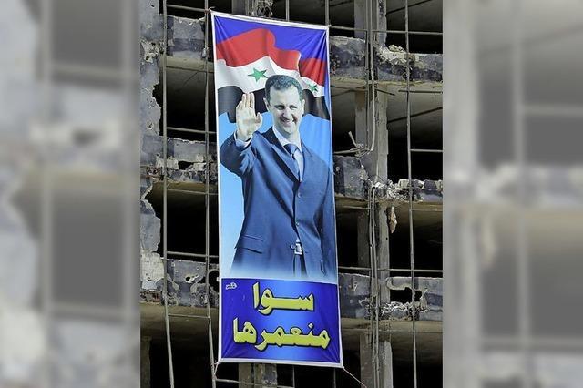 Assad lässt sich wählen