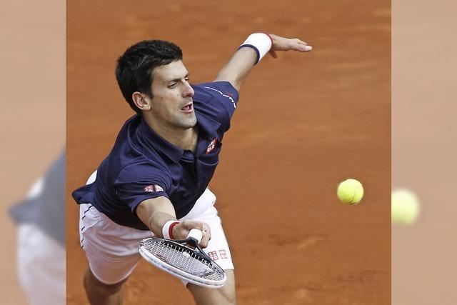 Djokovic beeindruckt und ist beeindruckt