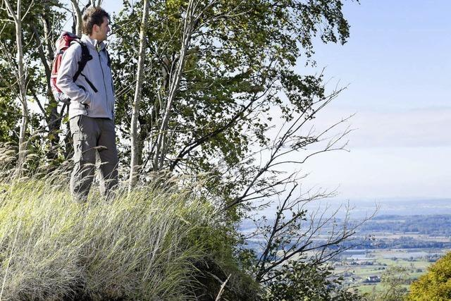 Wandern mit GPS in der Region Bodensee