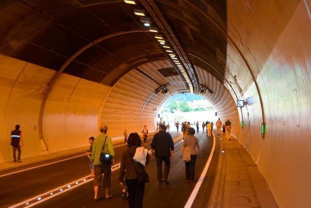 Notausgänge in Tunnel nicht barrierefrei