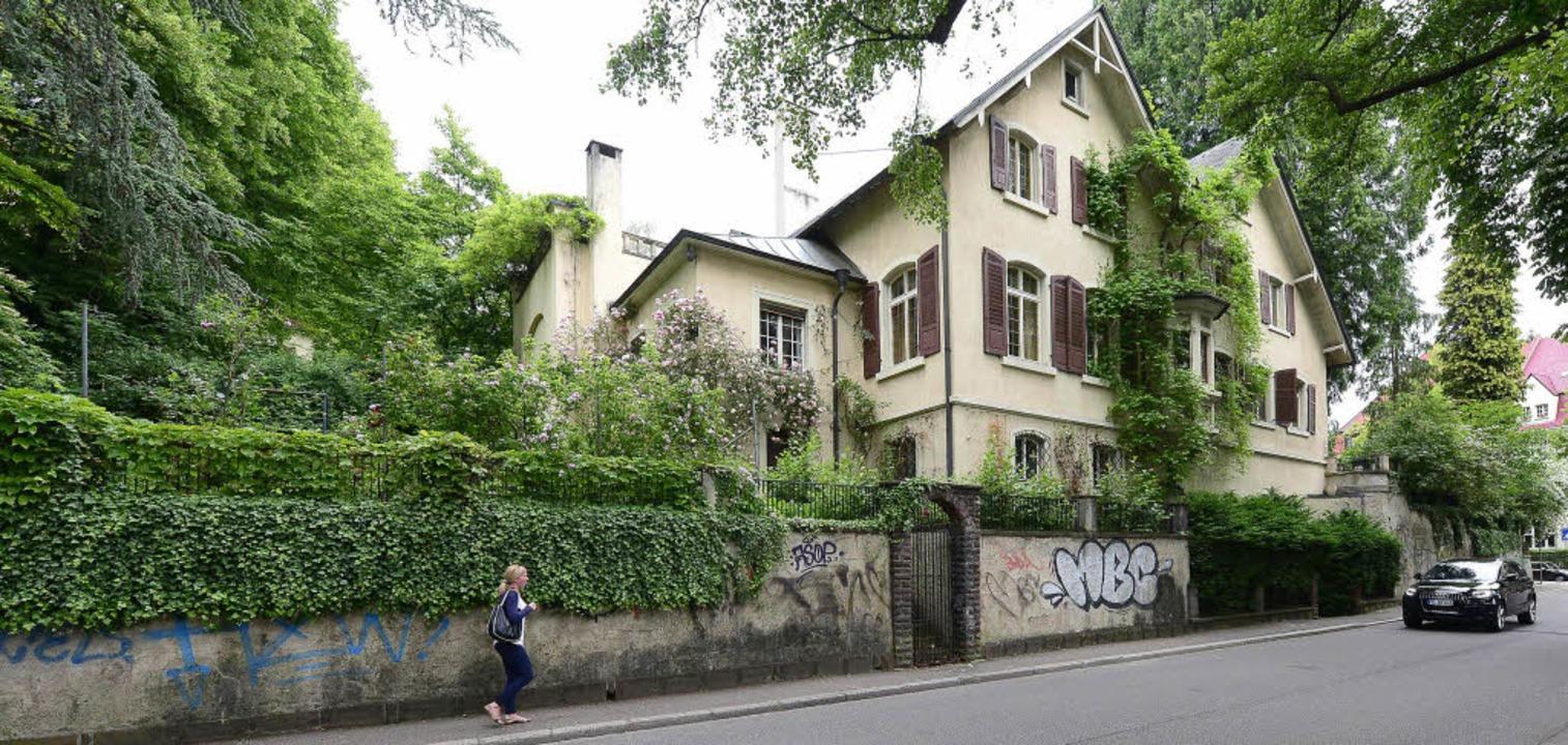 Ein lauschiges Plätzchen: die Villa an... der Dichter Reinhold Schneider lebte.    Foto: Schneider