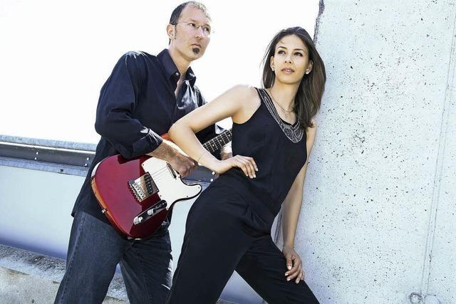 Céline Huber (Unser Star für Baku) und Oliver Fabro in Wehr