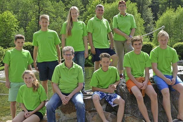 Badesee-Team wartet auf Besucher