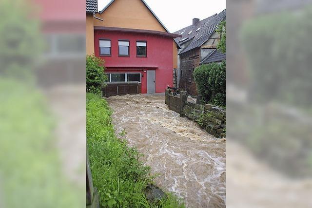 Neubaugebiet in Hochwasserzone