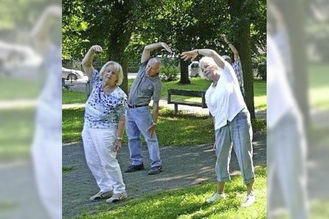 Bringt Ältere in Schwung