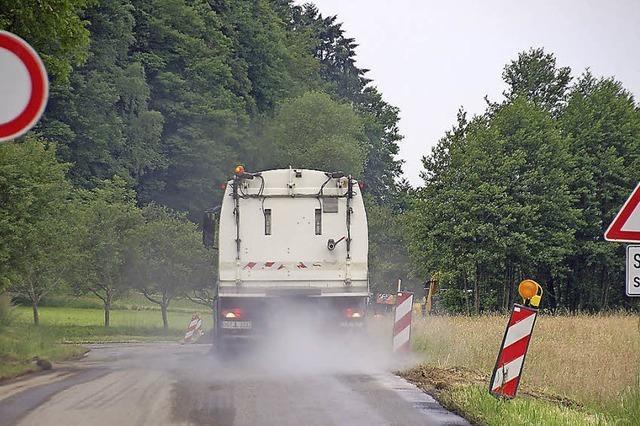 Vollsperrung erzwingt den Umweg über die L 112