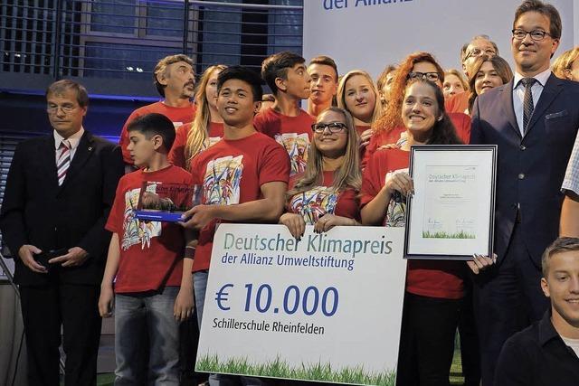 Schillerschüler auf Berlinfahrt