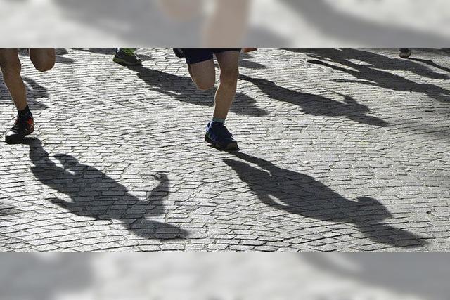 Den Läufern gehörte die ganze Stadt