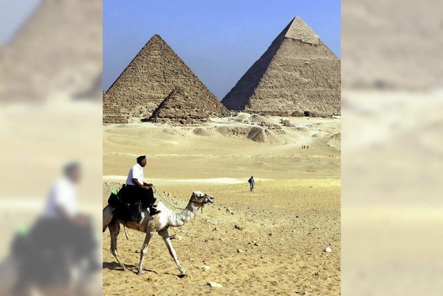 Streit um unerlaubte Gesteinsproben von Pyramiden