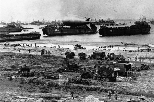 Vor 70 Jahren landeten die Alliierten in der Normandie