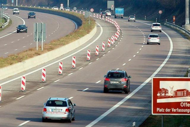 Ausbau der A5 geht weiter: Freie Fahrt für die Reisewelle