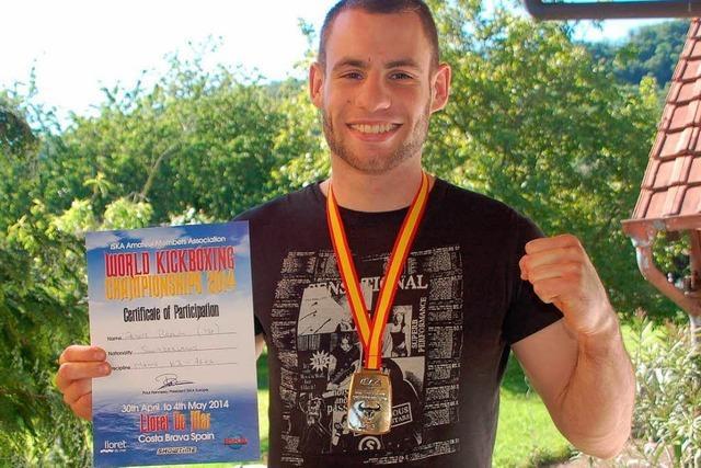 Peter Braun ist Kickbox-Weltmeister