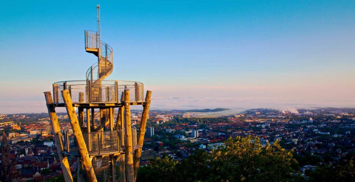 Ab Samstag wieder frei: der Schlossbergturm  | Foto: Felix Hosenseidl