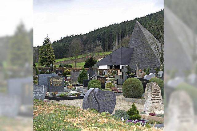Neue Pflegesätze für abgeräumte Gräber