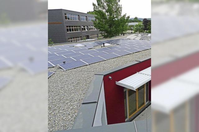 Strom für Schule und Familienzentrum