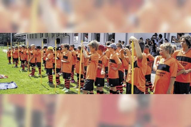 Das größte Fußballcamp im Land