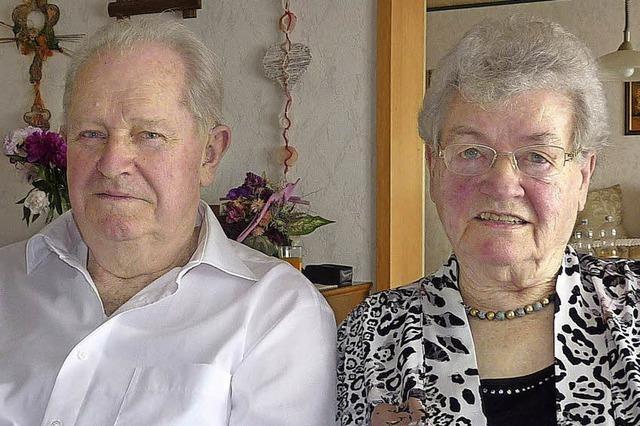 Seit 60 Jahren verheiratet