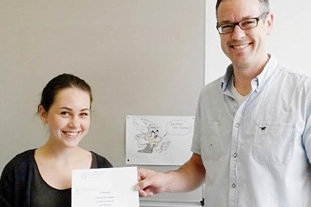 Scheffel-Schülerin gewinnt Landespreis