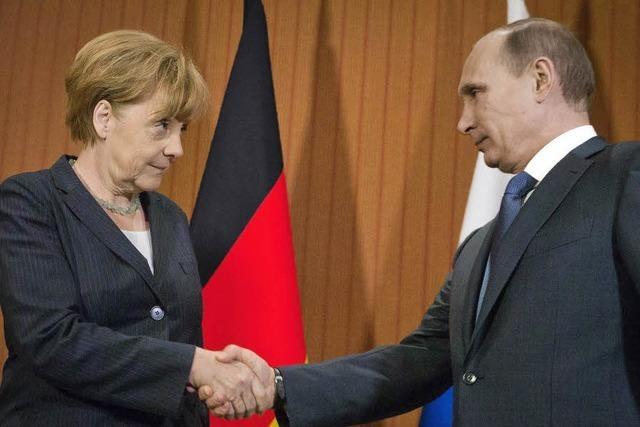 Ernste Gespräche mit Putin