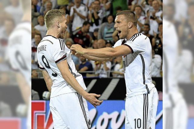 Am Ende trumpft das DFB-Team auf