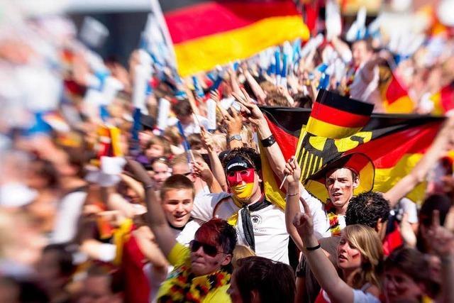 Public-Viewing zur WM 2014 in Südbaden