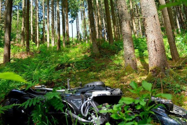 Schwere Motorradunfälle im Land – 49-Jähriger stirbt bei Lenzkirch