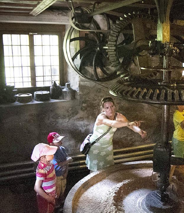 Nicht nur für Kinder sind Mühlen sehr beeindruckend.    Foto: Fleig