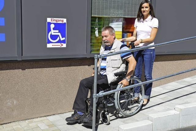 Barrierefreier Zugang zu Büroartikeln
