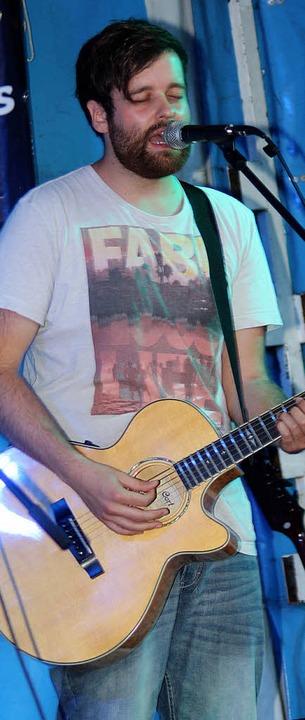 Fabian Bruck war der Star des Abends.     Foto: Heiner Fabry