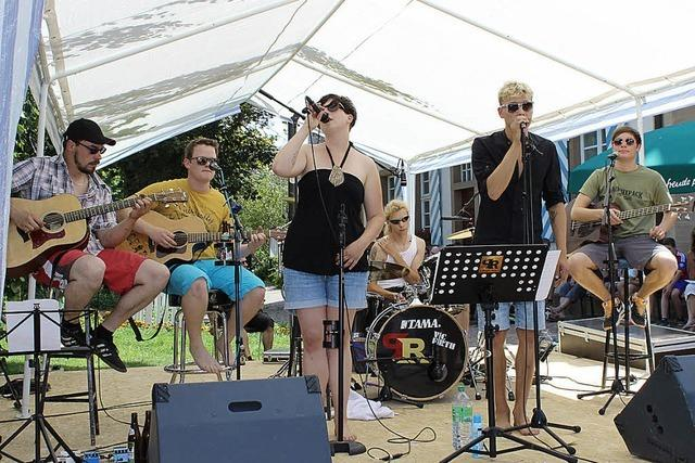 Konzert von Pocket Rock: Auf alemannisch lässt sich's gut rocken