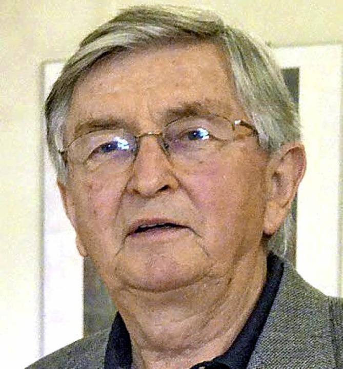 Seit mittlerweile 40 Jahren Mitglied b...Kanderner Genossen ist Herbert Uhl.     | Foto: Markus Maier