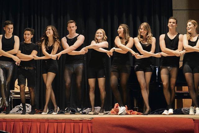 Abiturienten rocken den Bürgersaal