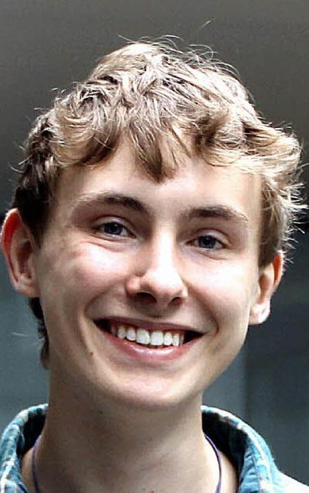 Gewinner des Testo-Abiturpreises für h...g St. Blasien. Er stammt aus Bonndorf.  | Foto: Testo AG