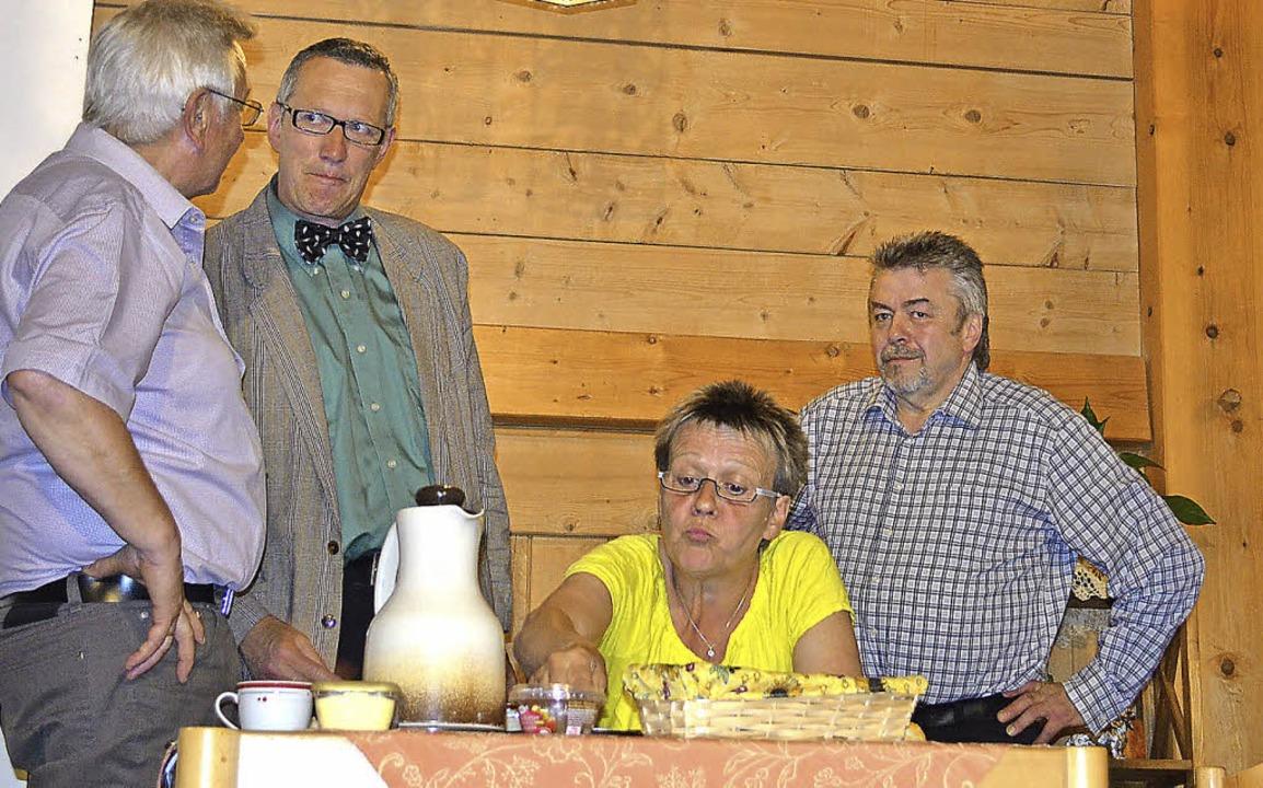 Viel erleben konnten die Besucher am P...hauspieler von der Bauernbühne …    Foto: Liane Schilling