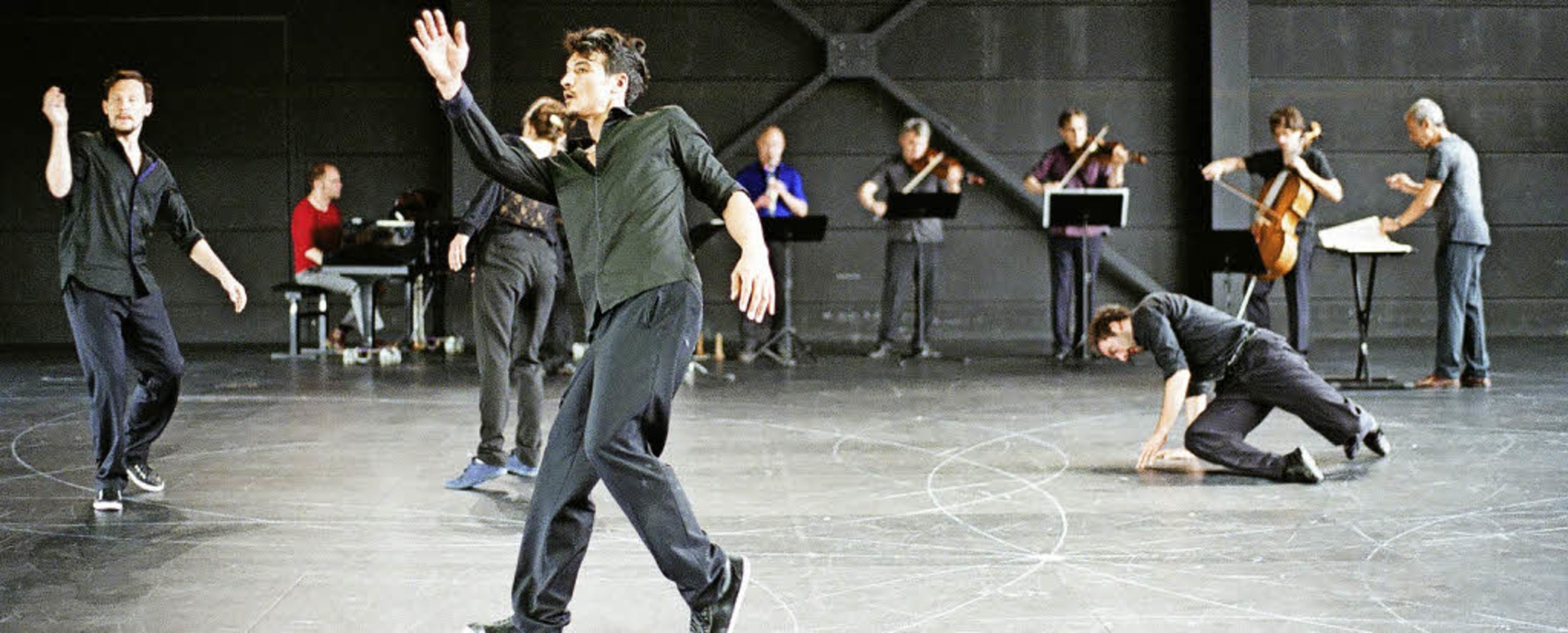 Theater der Welt: Vortex Temporum    Foto: Herman Sorgeloos