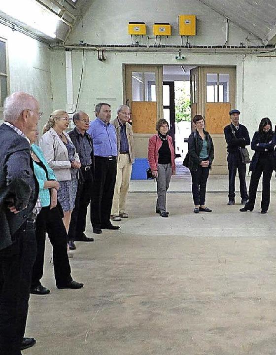 Die Weiler Delegation in der Fabrik Culture in Hegenheim     Foto: ZVG