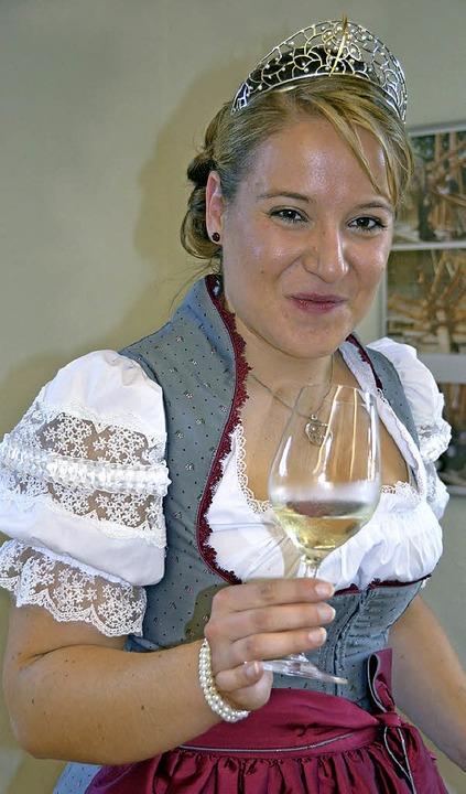Moderatorin war die Badische Weinkönigin Aurelia  Warther.  | Foto: sigrid umiger