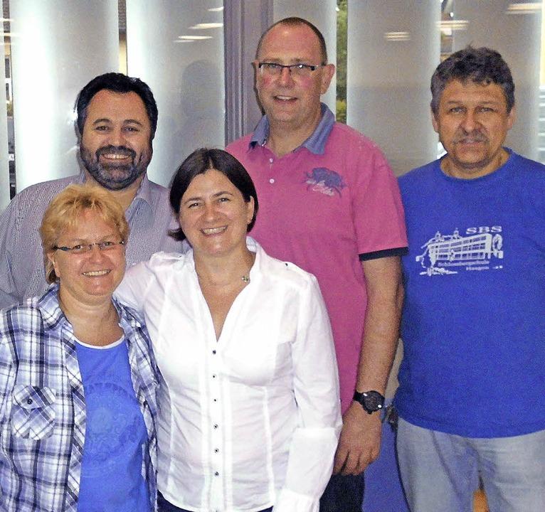 Der Vorstand des Vereins Pro Schlossbe...d  Willi Schlegge (Kassierer).</Text>   | Foto: Daniel Scholaster
