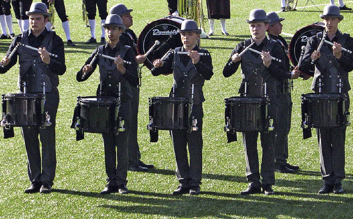Trommelshow des Secret Junior Corps aus Basel  | Foto: Ulrike Spiegelhalter