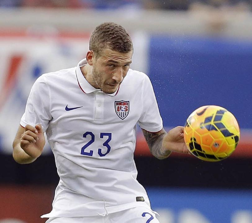 Fabian Johnson ist der Gewinner im US-Team während der WM-Vorbereitung.     Foto: AFP