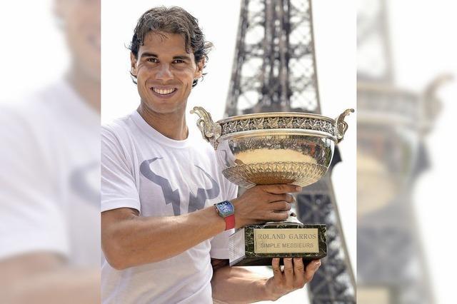 Nadal bleibt der König von Paris